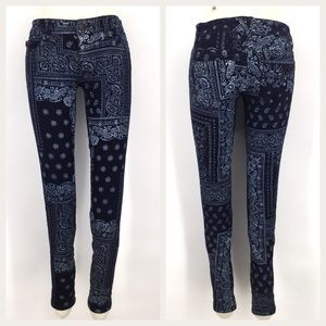 Paisley Skinny Jeans Royal Bones Daang Dark Wash 3